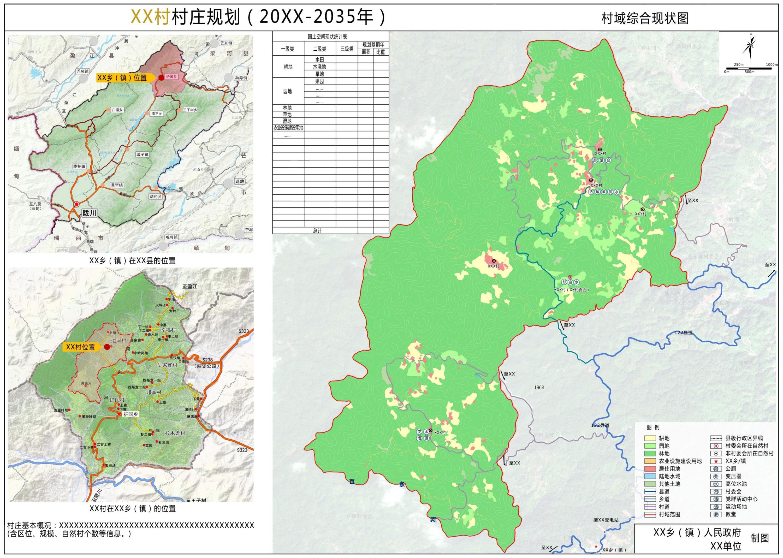 """202103-云南省""""多规合一""""实用性村庄规划编制指南(试行)(修订版)"""
